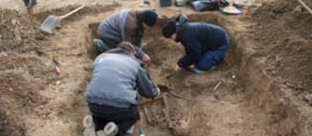 Kroppedal graver